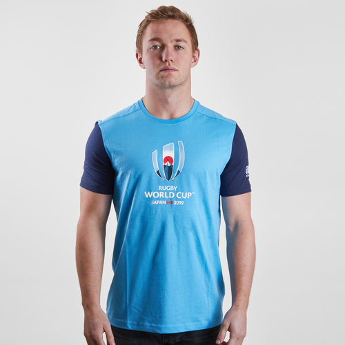 RWC 2019 Cotton Graphic S/S Rugby T-Shirt