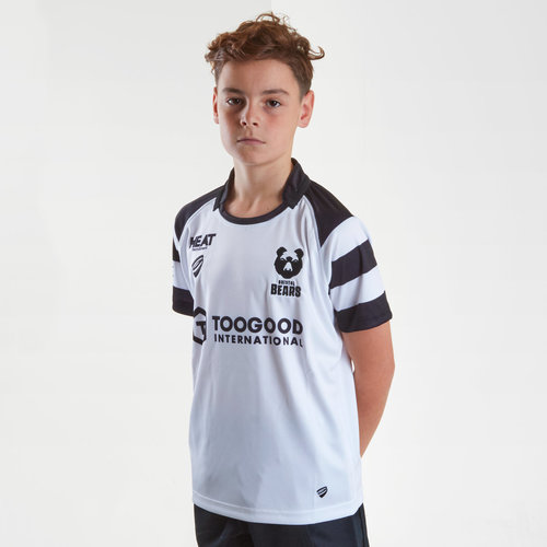 Bristol Bears 2018/19 Alternate Kids S/S Replica Rugby Shirt