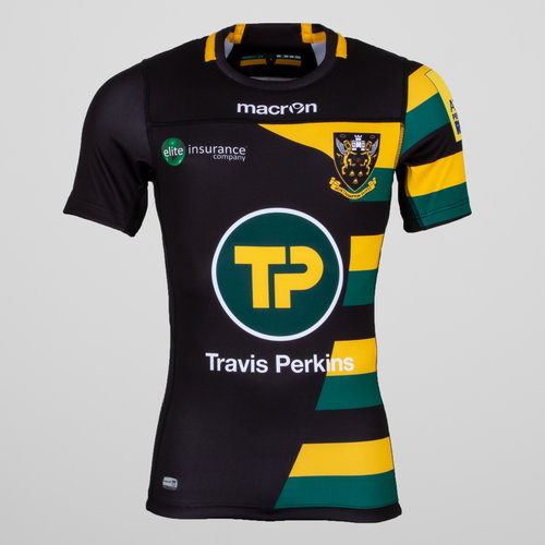 Northampton Saints 2016/17 Cup S/S Authentic Test Rugby Shirt
