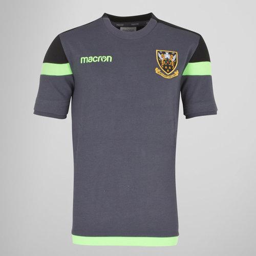Northampton Saints 2017/18 Kids Poly Travel Rugby T-Shirt