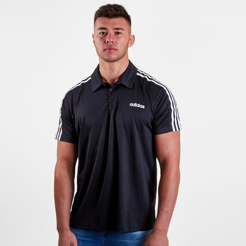 D2M 3 Stripe Training Polo Shirt