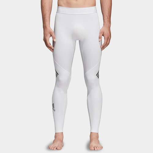 Alpha Skin 3 Stripe Mens Long Tights