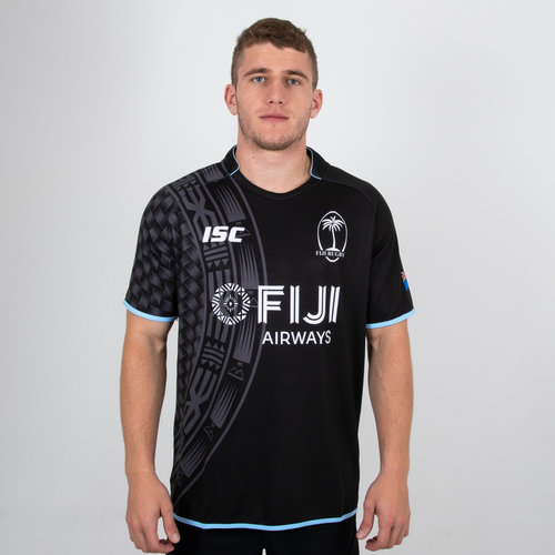 Fiji Alternate Rugby Shirt 2018 2019 Mens