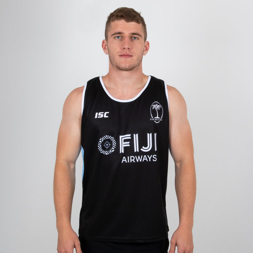 Fiji 2018/19 Players Rugby Training Singlet