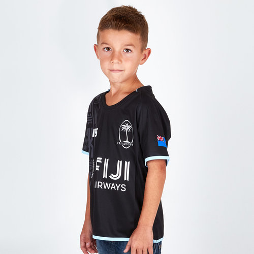 Fiji 2018/19 Youth Alternate S/S Replica Rugby Shirt