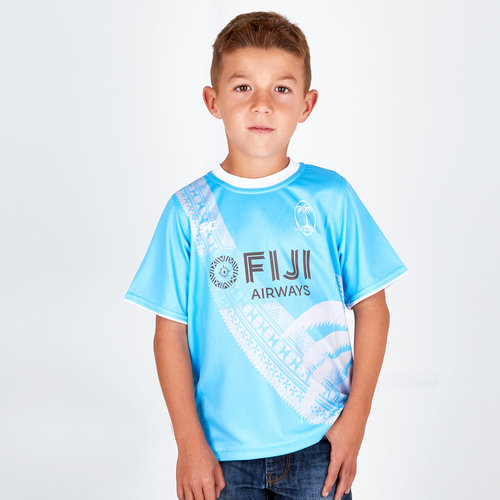 Fiji 2018/19 Kids Rugby Training T-Shirt