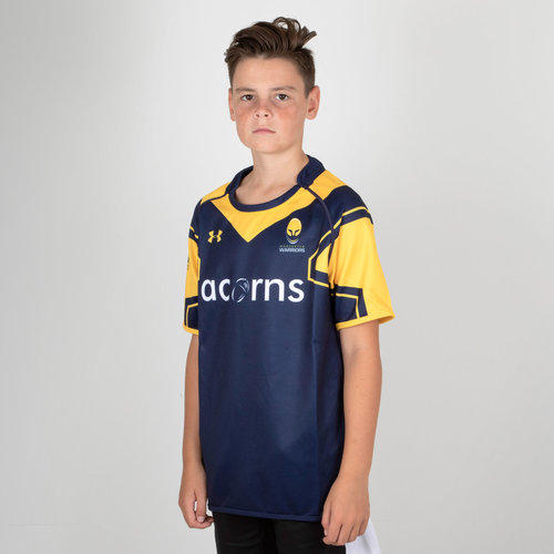Worcester Warriors 17/18 Home Kids Shirt