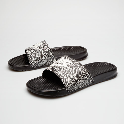 Nike Benassi Just Do It Print Slide Flip Flop