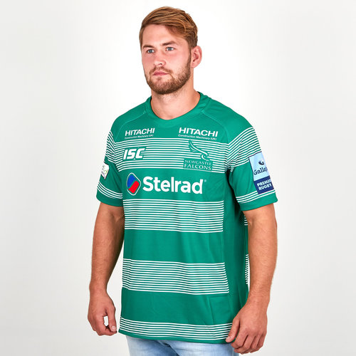 Newcastle Falcons 2018/19 Alternate S/S Replica Rugby Shirt