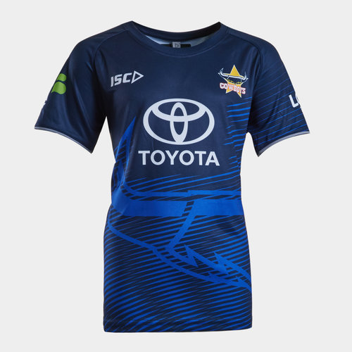 North Queensland Cowboys NRL 2019 Youth Rugby Training T-Shirt