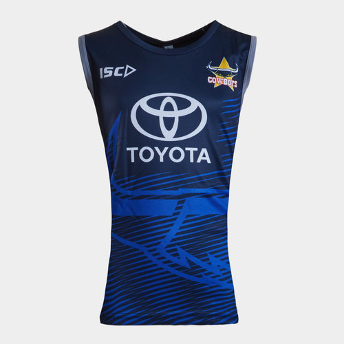 ISC North Queensland Cowboys NRL 2019 Youth Rugby Training Singlet ... de2dff6b3