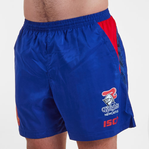 Newcastle Knights NRL 2019 Players Rugby Training Shorts