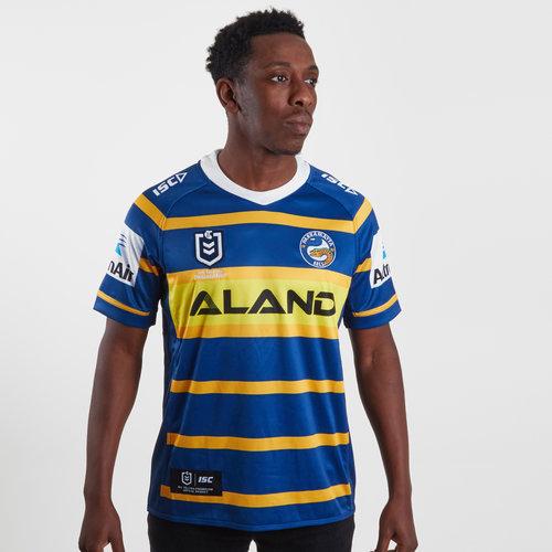 Parramatta Eels 2019 NRL Home S/S Rugby Shirt