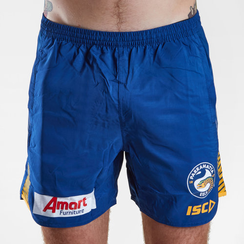 Parramatta Eels 2019 NRL Players Rugby Training Shorts