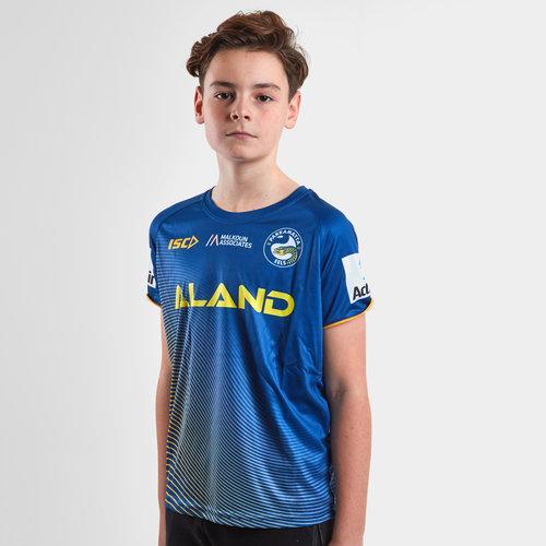 Parramatta Eels 2019 NRL Youth Rugby Training T-Shirt