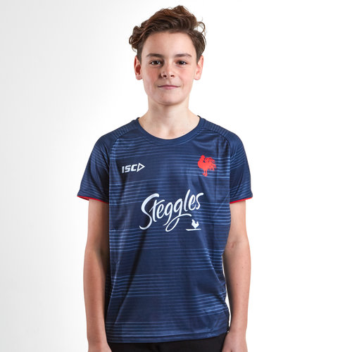 Sydney Roosters NRL 2019 Kids Rugby Training T-Shirt