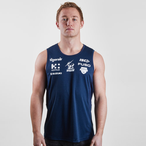 Melbourne Storm NRL 2019 Players Rugby Training Singlet