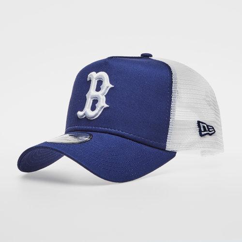 the latest 65cc4 e5c07 MLB Boston Red Sox Team Essential Trucker Cap
