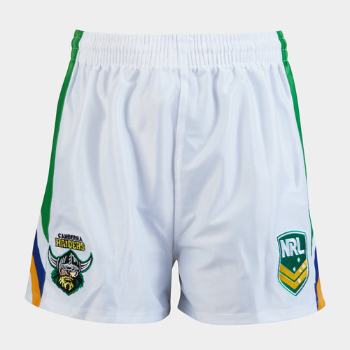 Canberra Raiders NRL Kids Supporters Rugby Shorts