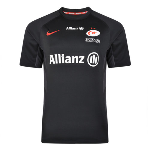 Saracens 2018/19 Kids Home S/S Rugby Shirt