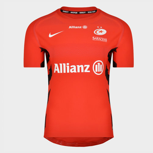 Saracens 2018/19 Alternate Players S/S Match Rugby Shirt