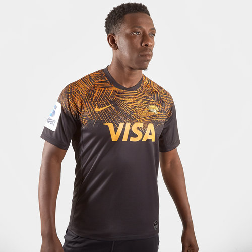 Jaguares 2019 Home Super Rugby S/S Rugby Shirt