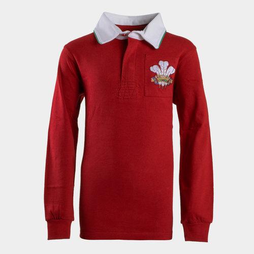Wales 2019/20 Kids Vintage Rugby Shirt