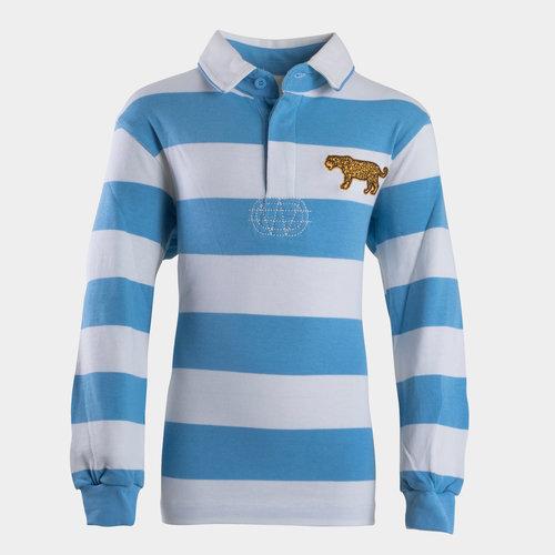 Argentina 2019/20 Kids Vintage Rugby Shirt