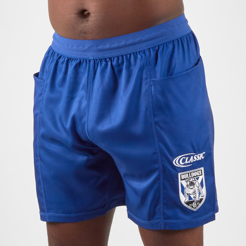 Canterbury Bulldogs 2019 NRL Players Rugby Training Shorts