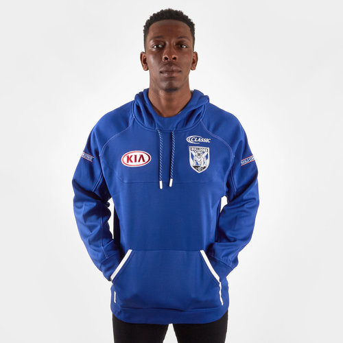 Canterbury Bulldogs 2019 NRL Players Hooded Rugby Sweat