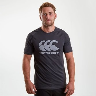 Core Vapodri Poly Logo T-Shirt