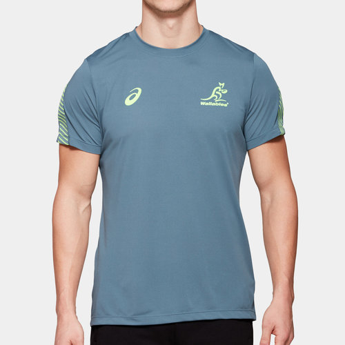 Australia Wallabies 2019/20 Players Rugby Training T-Shirt
