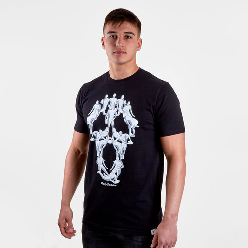 Horror Graphic Rugby T-Shirt