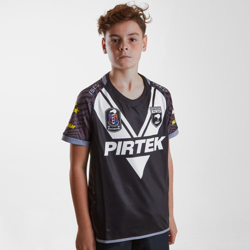 New Zealand Kiwis 2018/19 Youth Home S/S Replica Rugby League Shirt