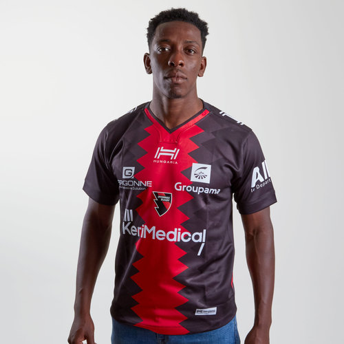 Oyonnax 2018/19 Home S/S Replica Rugby Shirt