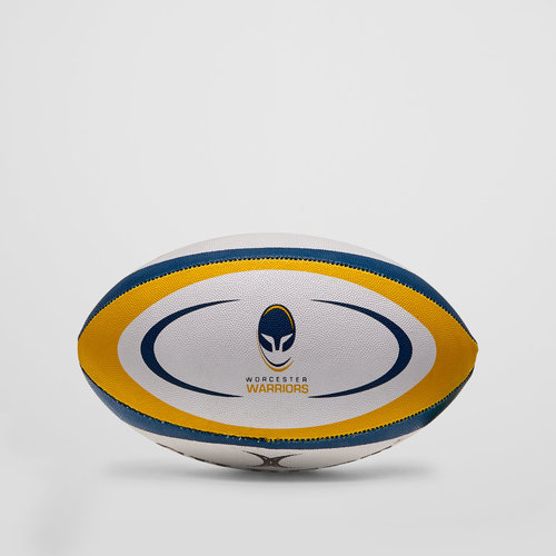 Worcester Warriors Midi Replica Rugby Ball