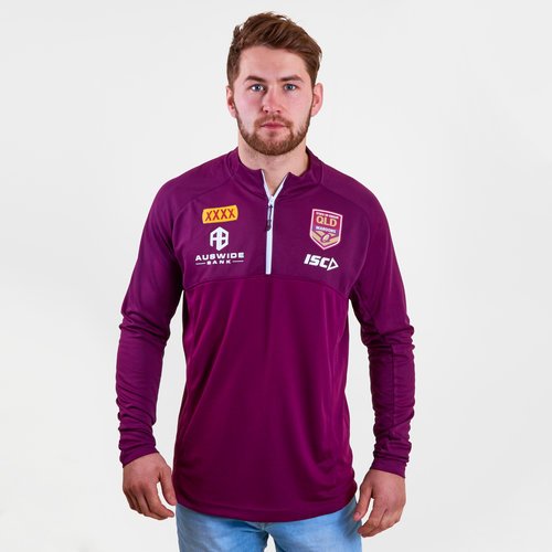 Queensland Maroons State of Origin 2019 Elite Rugby Training Top