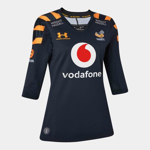 Wasps 2019/20 Ladies Home S/S Replica Rugby Shirt