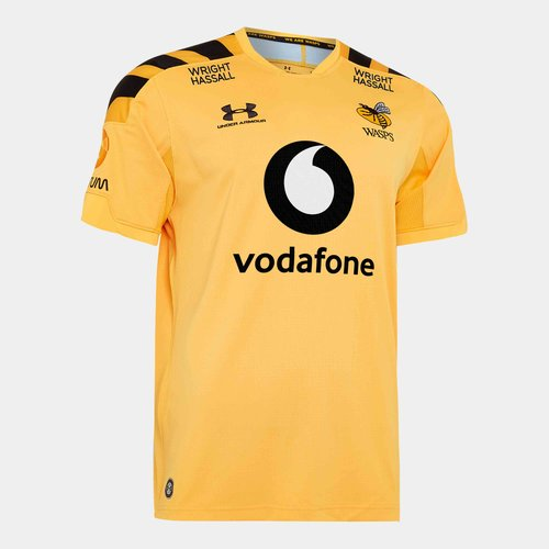 Wasps 2019/20 Kids Alternate S/S Replica Rugby Shirt