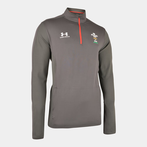 Wales WRU 2019/20 Players 1/4 Zip Training Top