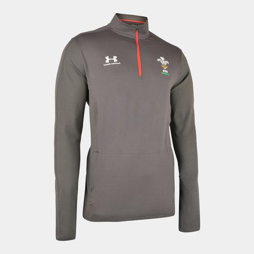 Wales WRU 2019/20 Players 1/4 Zip Rugby Training Top