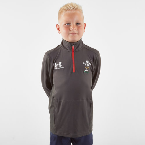 Wales WRU 2019/20 Kids 1/4 Zip Training Top