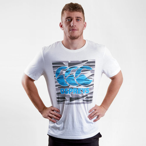 Ospreys 2018/19 Plain Rugby T-Shirt