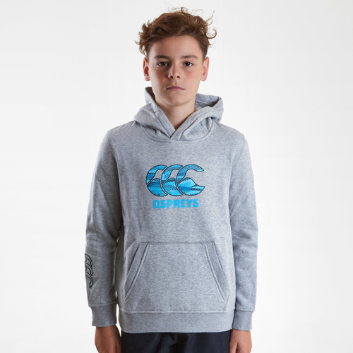 Ospreys 2018/19 Kids Team Hooded Rugby Sweat