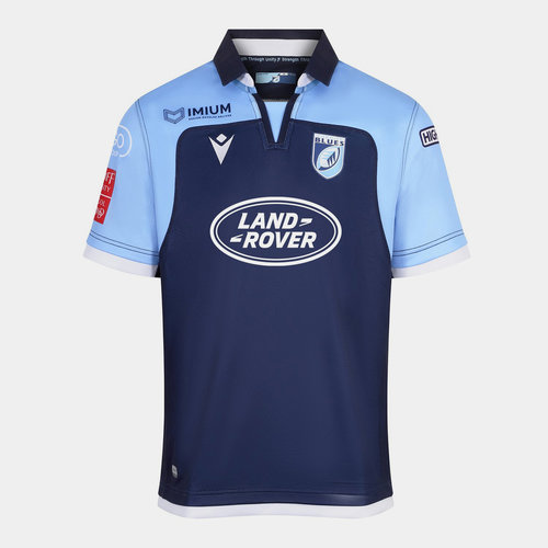 Cardiff Blues 2019/20 Home S/S Replica Rugby Shirt