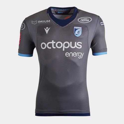 Cardiff Blues 2019/20 Kids Alternate S/S Replica Shirt