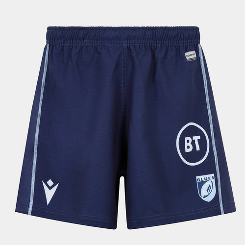 Cardiff Blues 2019/20 Kids Home Rugby Shorts