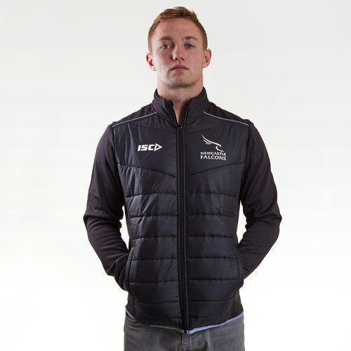 Newcastle Falcons 2017/18 Players Rugby Jacket