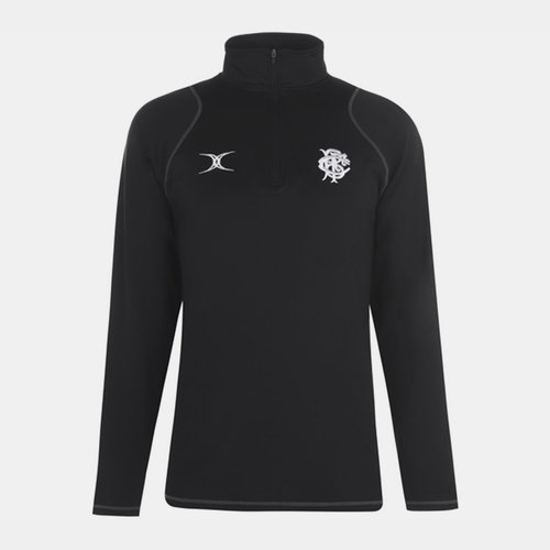 Barbarians 2019 Players 1/4 Zip Rugby Training Top
