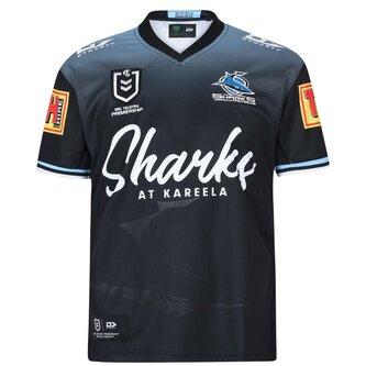 Cronulla Sutherland Sharks Away Jersey 2020 21 Seniors
